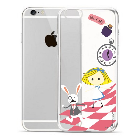 anna love anna cute iphone case alice in wonderland 愛麗絲 手機殼