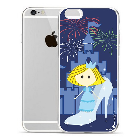 anna love anna cute iphone case cinderella 灰姑娘手機殼