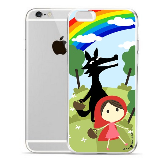 anna love anna cute iphone case little red riding hood 小紅帽 手機殼